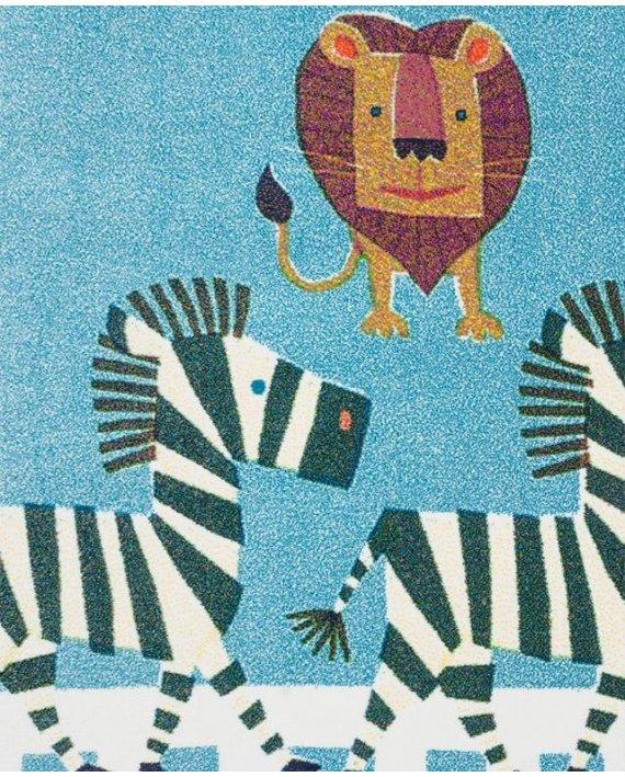 Covor copii Zebre