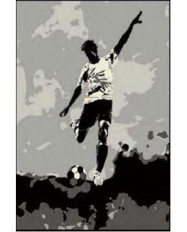 Covor Fotbal Gri