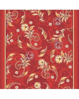 Traversa Print Floral Rosu