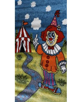 Covor copii Clown