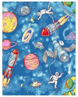 Covor copii Lumea Spatiala