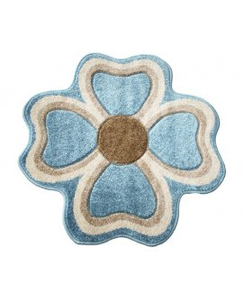 Covoras Rixos Floare Albastru
