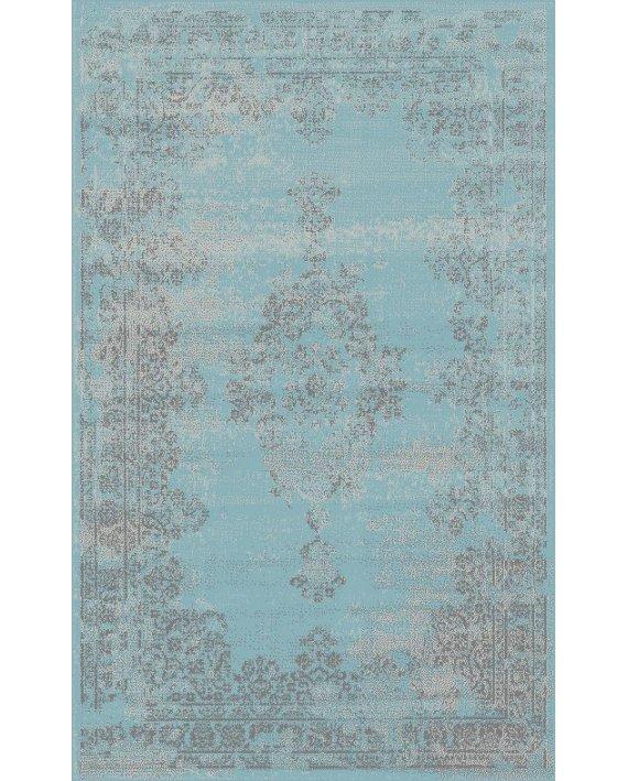 Covor Vintage Albastru Aladin