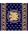 Traversa Estetik Bisericeasca Albastru, emblema pe lungime