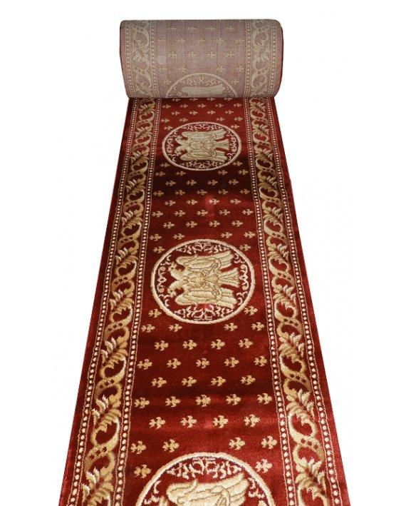 Traversa Estetik Bisericeasca Rosu, emblema pe lungime