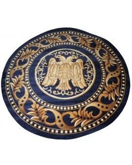 Covor Estetik Bisericesc Rosu Rotund